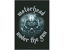 OFFICIAL LICENSED - MOTORHEAD - UNDER THE GUN TEXTILE POSTER FLAG LEMMY