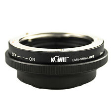 Cameraplus ® LENS MOUNT ADAPTER-Sony Alpha / Minolta AF LENTI A Micro 4 / 3 body