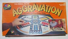 Original Deluxe Aggravation 1987 Selchow & Righter Board Game Complete