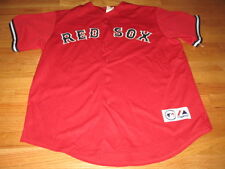 Majestic JOHNNY DAMON No. 18 BOSTON RED SOX (XL) Jersey RED
