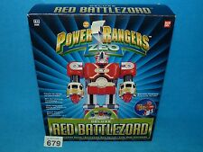 Power Rangers Zeo Deluxe Red Battle Zord Battlezord 100% MIB