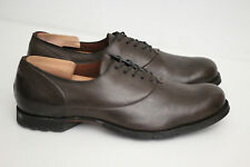 NEW Timberland Boot Company Plain Toe Bal Oxford - Dark Brown - Size 10 M (Y43)