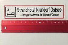 Aufkleber/Sticker: Strandhotel Niendorf Ostsee - Ihre Gute Adresse (10051665)