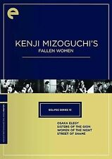 Eclipse Series 13: Kenji Mizoguchi's Fallen Women New Criterion DVD