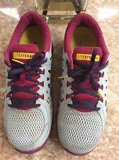 NIKE Dual Fusion Run 2 Livestrong Women's Gray Running Shoes Sz 9.5, 599181-002