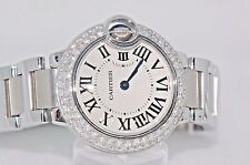 Womens Cartier Ballon Bleu Diamonds Everywhere