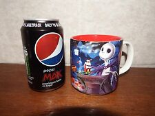 RARE Disney classics 2006 Nightmare Before Christmas Jack & Sally mug cup pottry