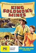KING SOLOMON'S MINES  1950 = STEWART GRANGER = PAL 4 = SEALED