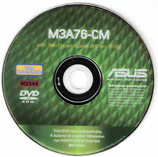 ASUS M3A76-CM Motherboard Drivers Installation Disk M2344