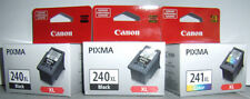 CANON PIXMA  TWO 240XL & ONE 241XL OEM INK CARTRIDGE MG3120 MG4120 MG4220 MX432