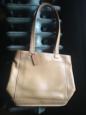 GREAT Authentic COACH COWHIDE Tan Leather Purse Tote Bag - with tag