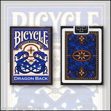 Dragon Back Blue Deck Bicycle Playing Cards Poker Size USPCC Limited Edition