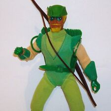 """1970's Original Mego 8"""" Type 2 GREEN ARROW Complete Action Figure NICE!"""