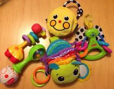 Lot Of 5 Infant Toys Sassy Infantino Fisher Price