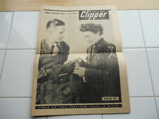 Scarce Vintage Mar 5 1945 WWII CLIPPER Fourth Air Force Weekly News Magazine