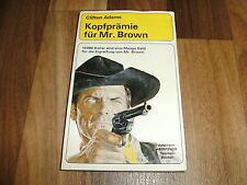 Clifton Adams -- KOPFPRÄMIE für Mr. BROWN / Goldmann Western TB von 1965