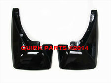 2009-2014 Chevy Tahoe GMC Yukon Cadillac Escalade Rear Black Splash Guards OEM