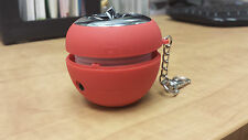 Portable Mini Red Apple Speaker Color Changing with 3.5mm aux
