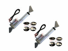 "2 Heavy Duty 12"" Linear Actuator w/Tilt & Mounting Brackets 12V 200lbs Max Pair"