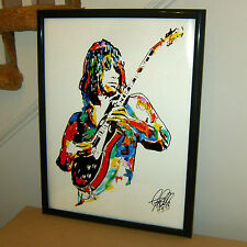 Jeff Beck, The Yardbirds, Guitar, Lead Guitarist, Hard Rock, 18x24 POSTER w/COA