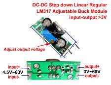 DC-DC 4.5~65v to 5v 9v 12v 24v 48v Buck Step-down Regulator Converter Mini Board