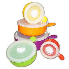 Mikrowellen Frischhaltedosen Set mit Dichtung Gefrierdosen Geschirr Vorratsdosen