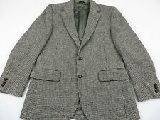 HARRIS TWEED Men's VINTAGE 100% Wool Sports Jacket Suit Coat Blazer Size 39R