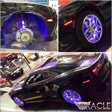 Oracle LED Illuminated Wheel Rings Rim Light Kit w/ Switch (UV / Purple)