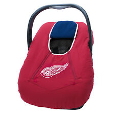 NHL Infant Car Seat Carrier Cover or Bunting Bag for Baby Detroit Red Wings