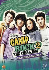 CAMP ROCK 2 THE FINAL JAM New Sealed DVD Extended Edition Disney