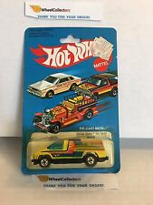 Inside Story 2510 Yellow * 1981 Malaysia * Vintage Hot Wheels * H62