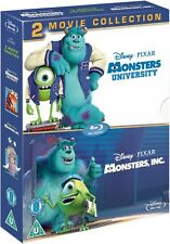 MONSTERS INC., / MONSTERS UNIVERSITY [Blu-ray Box Set] 2-Movie Disney Collection