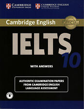 Cambridge IELTS 10 ESOL Official Exam Papers w Answers & Downloadable Audio @NEW
