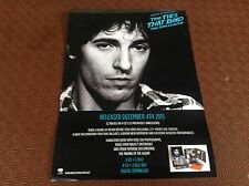 BRUCE SPRINGSTEEN -THE TIES THAT BIND- RARE OFFICIAL RECORD CO. PROMO POSTER