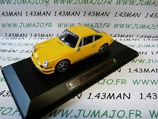 AK3 voiture 1/43 ixo atlas Auto Klassiker : PORSCHE 911 jaune orange