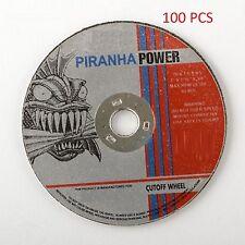 "( 100pcs )  Cut-Off Wheel 3"" X 1/16"" X 3/8"" (Pirahna Power)"