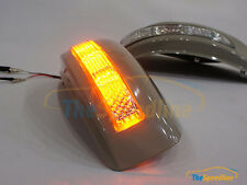 LED Turning Signal Mirror Cover Fits INFINITI G37 09 10 11 12 13 IPL Sedan Coupe