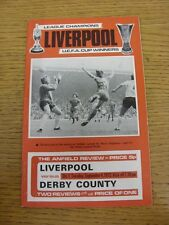 04/09/1973 Liverpool v Derby County  (Item In Good Condition)