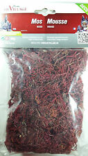 My Village Scatter Moss Red 30g Ground Cover Railway Modelling Scenery