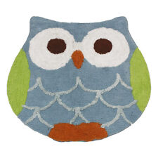 New Saturday Knight Bathroom Rug Mat Hooty Owl