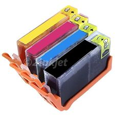 4 x New Generic 564XL Ink Fits Photosmart 5510 5514 5515 5520 Show Ink Level