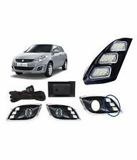 MARUTI SUZUKI SWIFT DZIRE LED DRL(DAY TIME RUNNING LIGHTS) FOG LIGHT COVERS