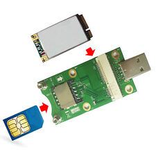 New Type Mini PCI-E to USB Adapter With SIM card Slot for WWAN/LTE Module