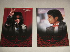 Michael Jackson - No 73 & 112 - 2 Panini Trading Cards 2011 *RARE* aus USA