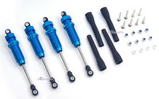 Alloy Front+Rear Shock Damper fit Tamiya Land Cruiser CR01 Blue