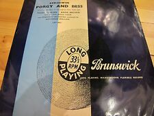 "LAT 8021 UK 12"" 33RPM  GERSHWIN ""PORGY AND BESS"" EX"