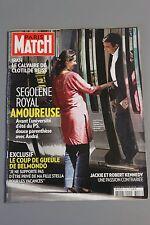 PARIS MATCH N°3143 13 AOUT 2009 SEGOLENE ROYAL/ BELMONDO/ KENNEDY