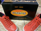 New Men's Vikings Red - White 1477 - 09G Casual Shoes Size 11 Brand New!