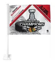 Chicago Blackhawks 2015 Stanley Cup Champions Car Flag Truck Banner
