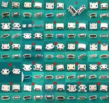 KIT 25 X MICROUSB 5 PIN HEMBRA CONECTOR, MICRO USB CONECTOR KIT VARIOS FORMATOS